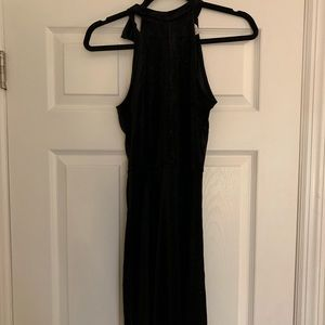 Glitter velvet high neck dress from H&M with tags!